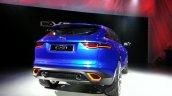 Rear right three quarter of the Jaguar CX-17 Concept