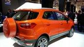Rear three quarter of the Ford EcoSport