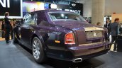 Rear three quarter of the Rolls Royce Phantom Celestial Edition