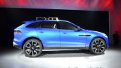 Right side of the Jaguar CX-17 Concept