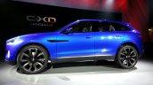 Side  of the Jaguar CX-17 Concept