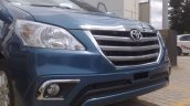 Toyota Innova facelift spied in India