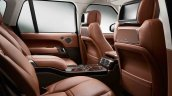 2013 Range Rover Black rear seats