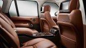 2013 Range Rover Black rear seats