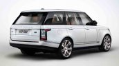 2013 Range Rover Black rear three quarters