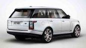 2013 Range Rover Black rear three quarters