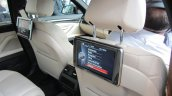 2014 BMW 530d rear seat entertainment