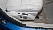 2014 Volvo S60 facelift India front seat adjust