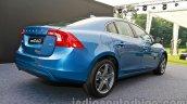 2014 Volvo S60 facelift India rear three quarters