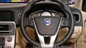 2014 Volvo S60 facelift India steering wheel