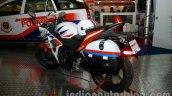 Honda CBR 250R Police Model rear three quarters