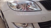 New 2014 Skoda Rapid projector headlights