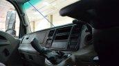 Tata Ultra 812 co-driver side dashboard