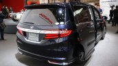 2014 Honda Odyssey Absolute rear three quarters