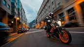 2014 KTM Duke 390 all black color
