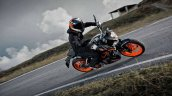 2014 KTM Duke 390 all black front