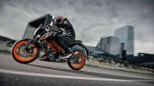 2014 KTM Duke 390 all black side