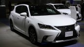 2014 Lexus CT200h front three quarters at 2013 Tokyo Motor Show