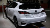 2014 Lexus CT200h rear three quarters left at 2013 Tokyo Motor Show