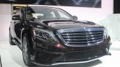 2014 Mercedes S65 AMG at LA Auto Show 2013 front three quarter view