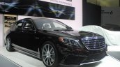 2014 Mercedes S65 AMG at LA Auto Show 2013 front three quarters