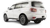 2014 Nissan Patrol rear three quarters