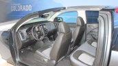 2015 Chevrolet Colorado cabin cut section