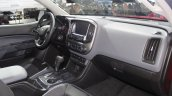 2015 Chevrolet Colorado dashboard passenger side