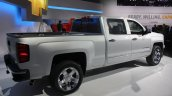 2015 Chevrolet Silverado rear three quarters