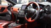 2015 Nissan GT-R interiors
