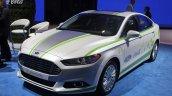 Ford Fusion Energi plug-in hybrid front quarter