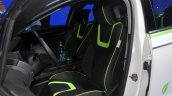 Ford Fusion Energi plug-in hybrid seats