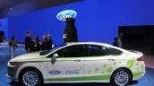 Ford Fusion Energi plug-in hybrid side