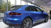 Porsche Macan rear three quarter