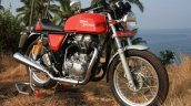 Royal Enfield Continental GT Front three quarter