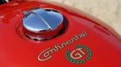 Royal Enfield Continental GT Fuel cap and logo