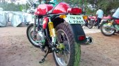 Royal Enfield Continental GT rear three quarters live image