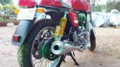 Royal Enfield Continental GT rear three quarters right live image