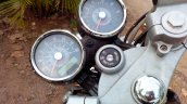 Royal Enfield Continental GT speedometer live image