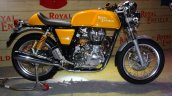 Royal Enfield Continental GT yellow body color at the launch