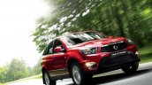 Ssangyong Actyon facelift in action