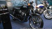 Triumph Bonneville launched front quarter