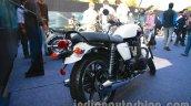 Triumph Bonneville launched white rear quarter