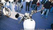 Triumph Bonneville launched white tank