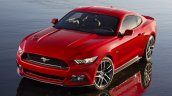 2015 Ford Mustang official front quarter