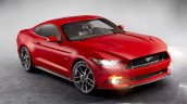 2015 Ford Mustang official lights on