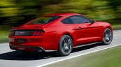 2015 Ford Mustang official rear three quarter
