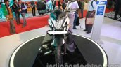 Bajaj Pulsar 200NS front Metallic white and Ebony black dual tone colour
