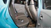 Datsun Go Delhi Roadshow rear legroom