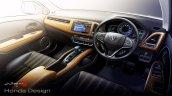 Honda Vezel launched interiors